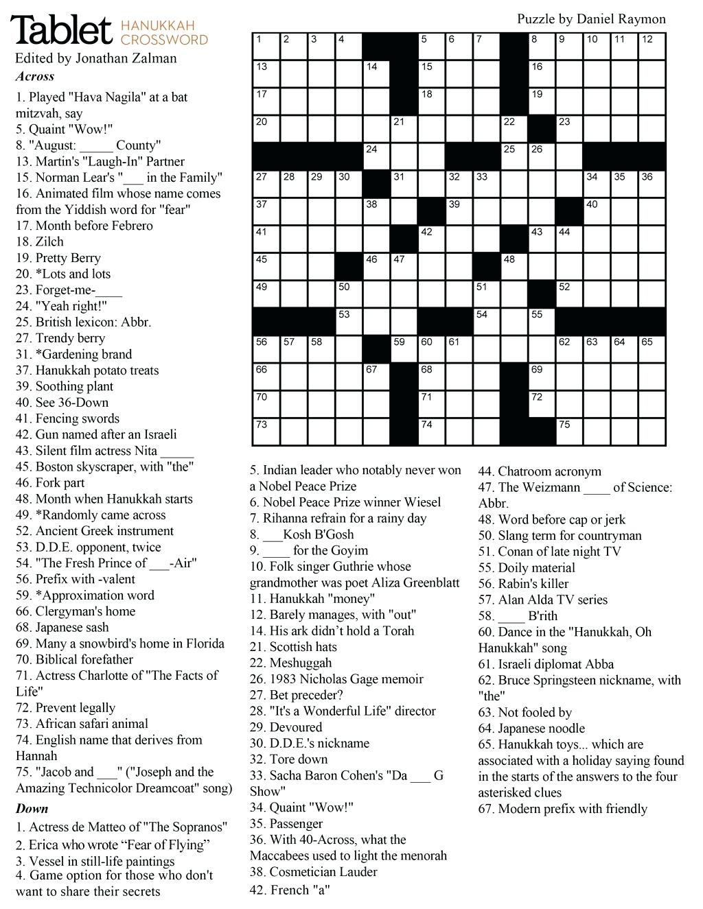 Middle School Crossword Puzzles Raunchy Some Of The Words In The - Printable Crossword Puzzles High School