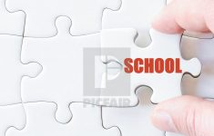 Missing Jigsaw Puzzle Piece With Word School   License, Download Or   Print Missing Puzzle Piece