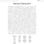 Naruto Characters Word Search   Wordmint   Printable Naruto Crossword Puzzles