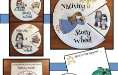 Nativity Craft Sequencing & Retelling The Story   December School   Printable Nativity Puzzle