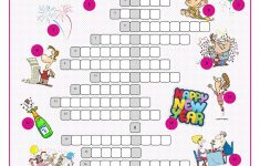 New Year's Eve &day Crossword Puzzle Worksheet   Free Esl Printable   Printable New Year's Crossword Puzzle