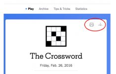 New York Times Crossword – Help   Printable Crossword Puzzle Ny Times