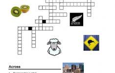 New Zealand   Crossword | Preschool :) | New Zealand, Worksheets   Printable Crossword Puzzles Nz