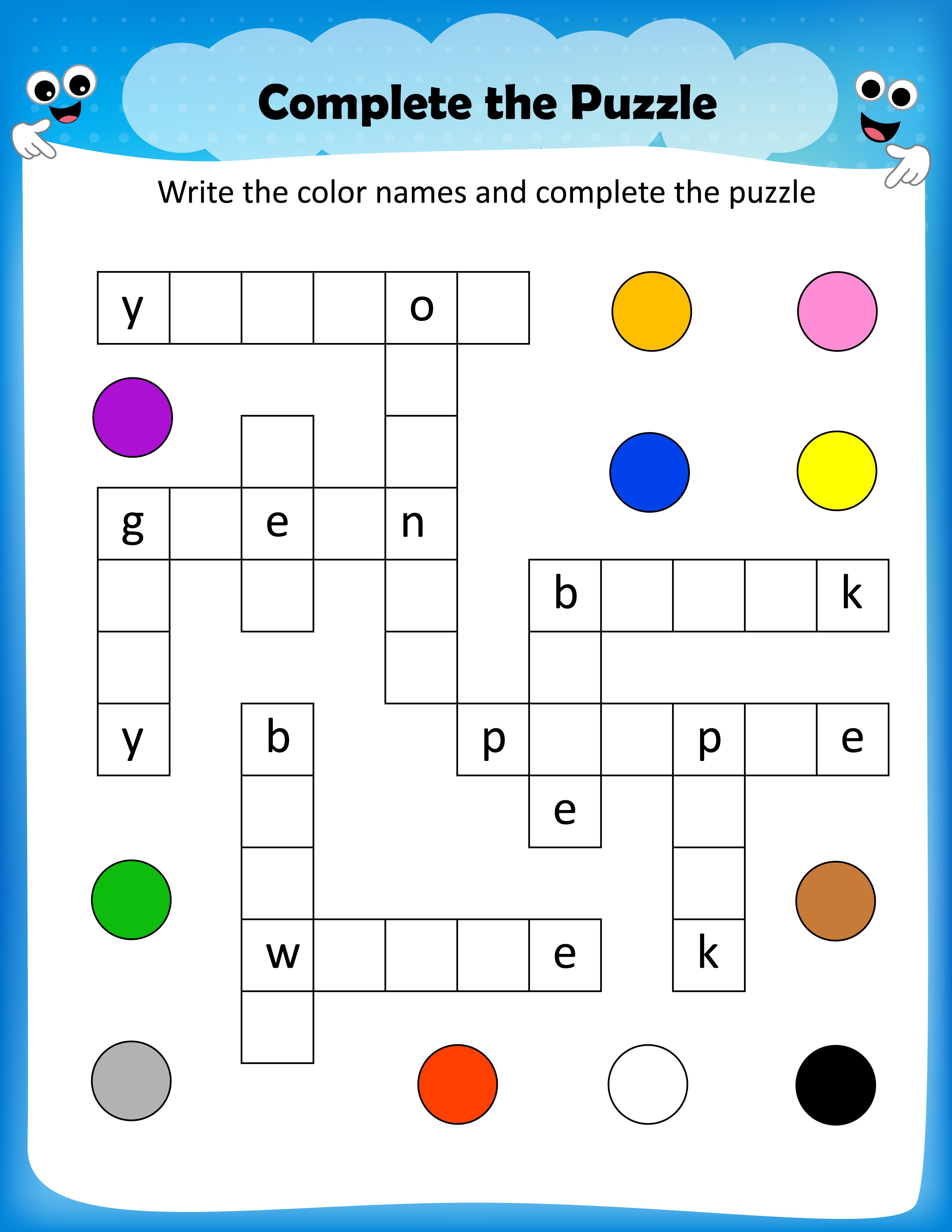 Nhl Crossword Puzzle Printable Crosswords All - Free Printable - Crossword Puzzles For Kindergarten Free Printable