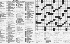 Noli Insipientium Iniurias Pati: New York Times Crossword Clue   New   New York Crossword Puzzle Printable