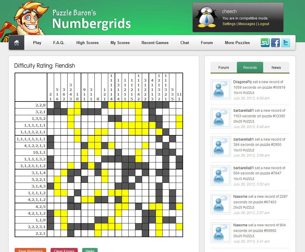 Number Puzzles   Portfolio Categories   Puzzle Baron - Printable Rosetta Puzzles