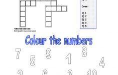 Numbers 1 10 Worksheet   Free Esl Printable Worksheets Madeteachers   Printable Number Puzzles 1 10