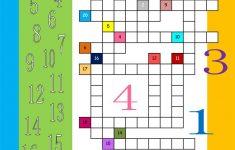 Numbers 1 20 Crossword Worksheet   Free Esl Printable Worksheets   Number Crossword Puzzles Printable