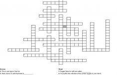 Nutrient Crossword Puzzle Crossword   Wordmint   Nutrition Printable Puzzle
