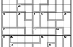 Observer Killer Sudoku | Life And Style | The Guardian   Printable Crossword Guardian