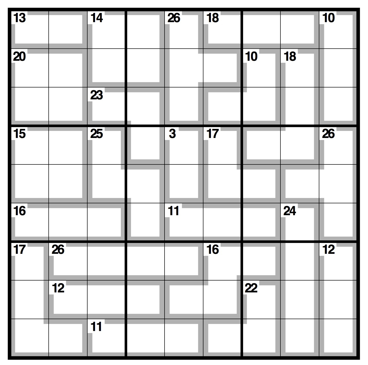 Observer Killer Sudoku | Life And Style | The Guardian - Printable Crossword Guardian