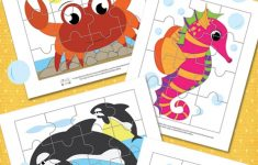 Ocean Animals Printable Puzzles For Kids   Itsy Bitsy Fun   Printable Animal Puzzles