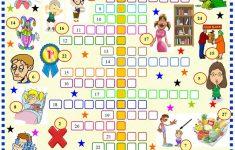 Opposites Of Adjectives: Crossword Worksheet   Free Esl Printable   Printable Opposite Crossword Puzzle