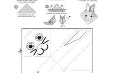 Origami Bunny Activity Free Printable | Melissa & Doug Blog   Printable Origami Puzzle