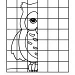 Owl Complete The Picture Drawing : Printables For Kids – Free Word   Printable Drawing Puzzles