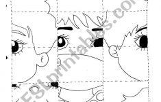 Parts Of The Body   Puzzle   Esl Worksheetrosario   Printable Body Puzzle