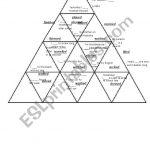 Past Simple Regular Verbs Puzzle Tarsia   Esl Worksheetshivvers   Printable Tarsia Puzzles