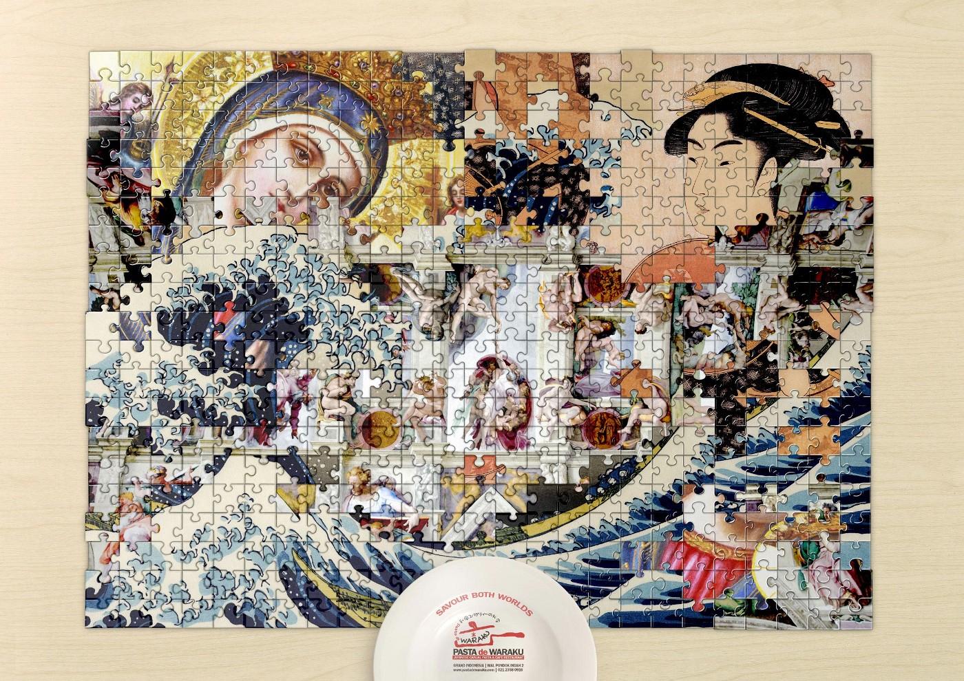 Pasta De Waraku Jigsaw Puzzles - The Inspiration Room - Print Puzzle Jakarta
