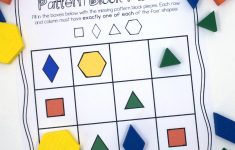 Pattern Block Puzzles {Free}   Printable Thinking Puzzles