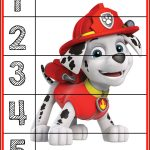 Paw Patrol Puzzles | Prekautism | Counting Puzzles, Toddler   Printable Toddler Puzzles