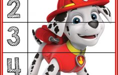 Paw Patrol Puzzles   Prekautism   Counting Puzzles, Toddler   Printable Toddler Puzzles