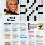 People Magazine Crossword Puzzles To Print | Puzzles In 2019   Printable Blockbuster Crossword Puzzles