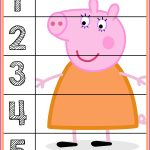 Peppa Pig Number Puzzles #'s 1 5 | Autism Activities For Ages 3 5   Printable Number Puzzles For Preschoolers