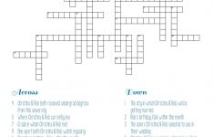 Personalized Bridal Shower Crossword Puzzle | Rehearsal Dinner   Free Printable Wedding Crossword Puzzle