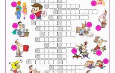 Phrasal Verbs Crossword Puzzle Worksheet   Free Esl Printable   Worksheet Verb Puzzle