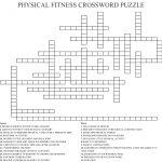 Physical Fitness Crossword Puzzle Crossword   Wordmint   Printable Wellness Crossword Puzzles