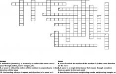 Physics Wave Crossword Puzzle Crossword   Wordmint   Physics Crossword Puzzles Printable With Answers