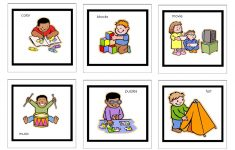 Picture Cards For Nonverbal Children | Free Printable Visual   Free Printable Visual Puzzles