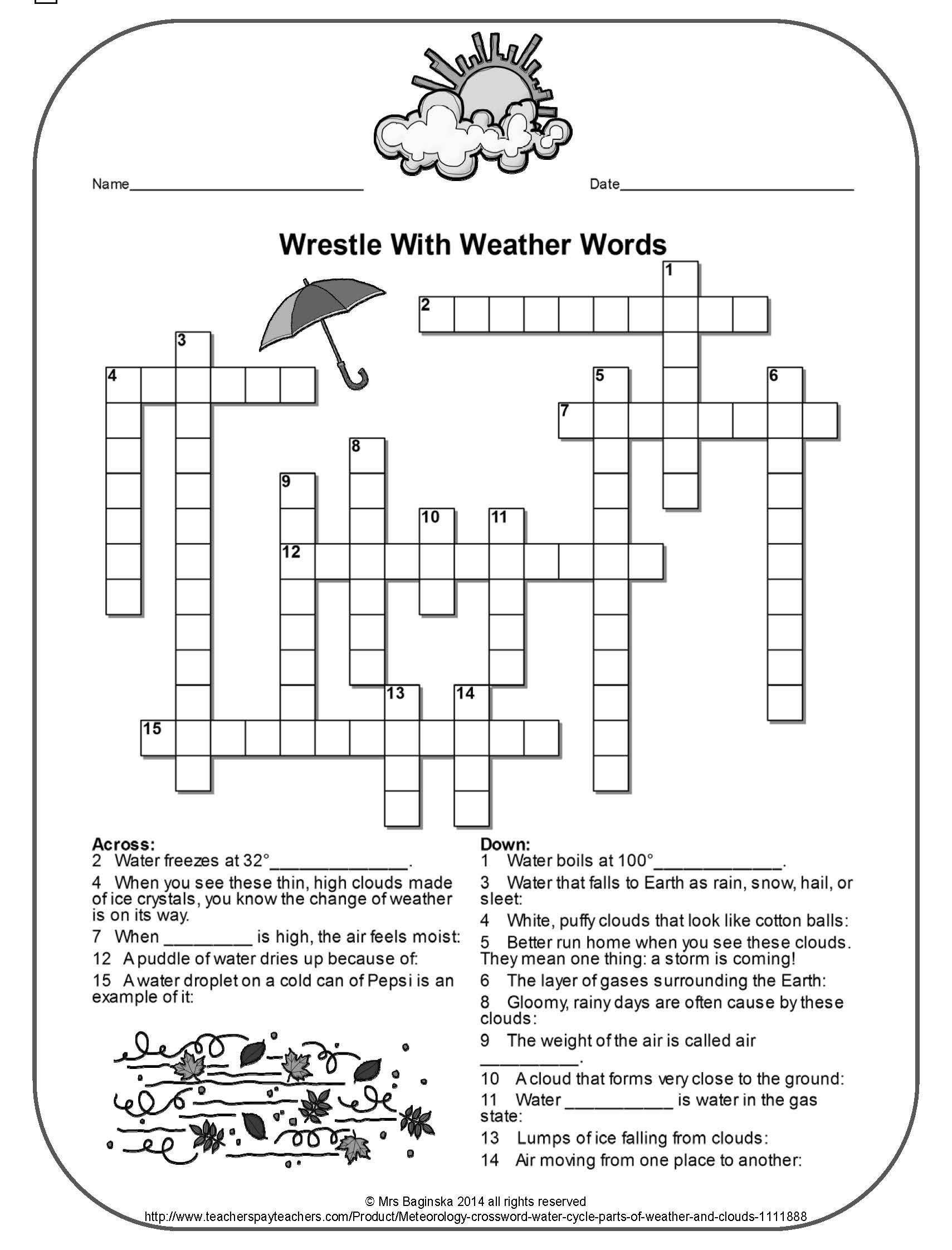 Pina Demanding 4Th Grade Teacher On Fun Stuff For Primary Grades - 4Th Grade Printable Crossword Puzzles