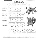 Pincrafty Annabelle On Pokemon Printables | Pokemon Coloring   Printable Crossword Puzzles Pokemon