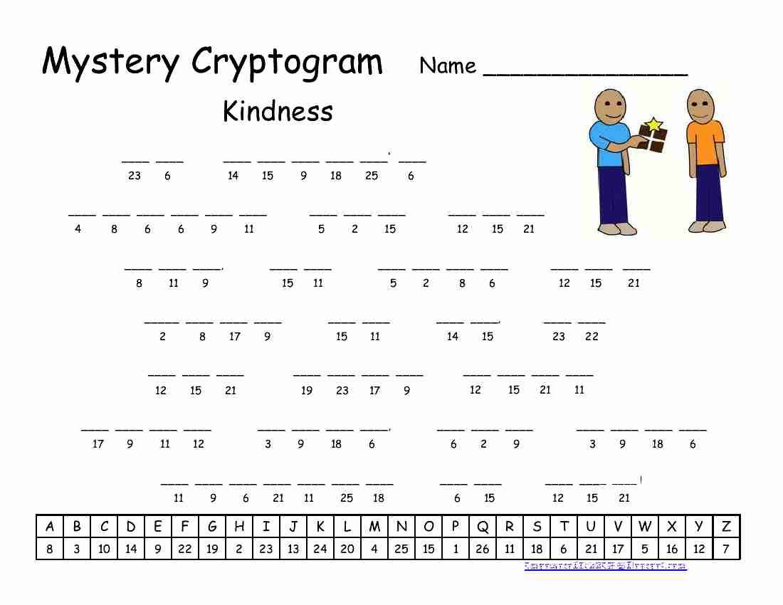 Pinrawa'a El-Hussein On Cryptogram | Puzzles For Kids, Word - Free - Printable Puzzles Cryptograms