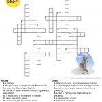 Pinterest – Groundhog Day Crossword Puzzles Printable