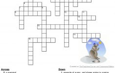 Pinterest – Groundhog Day Crossword Puzzles Printable