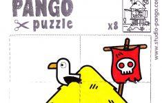 Pirate Island Jigsaw Puzzle #8 #pieces #jigsaw | Pango Printable   8 Piece Puzzle Printable