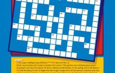 Pizzazz!: Superhero Crossword Puzzle!   Printable Superhero Crossword Puzzle