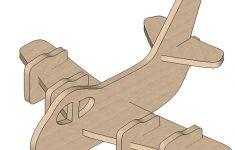Plane Mini Puzzle   Mini Puzzles | Makecnc   Printable 3D Puzzles