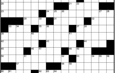 Play Free Crossword Puzzles From The Washington Post   The   Printable Crossword Puzzle Washington Post