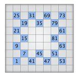 Play Today's Numbrix Puzzle   Printable Numbrix Puzzles Parade