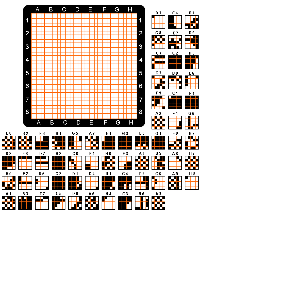 Pokémon Crossroads Forum - Printable Pixel Puzzles