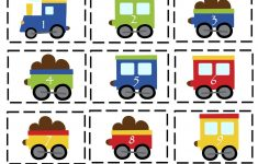 Preschool Printables: Trains, Planes And Automobiles Printable   Printable Train Puzzle
