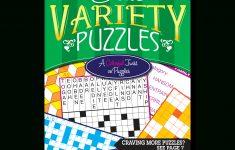 Print At Home Elite Variety Puzzles – Kappa Puzzles   Printable Variety Puzzles