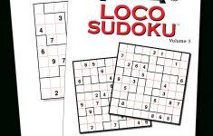 Print At Home Loco Sudoku – Kappa Puzzles   Printable Puzzle Packets