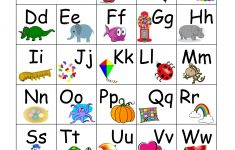 Printable Abc Chart With Pictures | Preschool | Abc Chart, Abc For   Printable Abc Puzzle