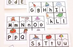 Printable Abc Puzzles For Pre K And Kindergarten   Printable Letter Puzzles