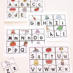 Printable Abc Puzzles For Pre K And Kindergarten   Printable Puzzles To Do At Work