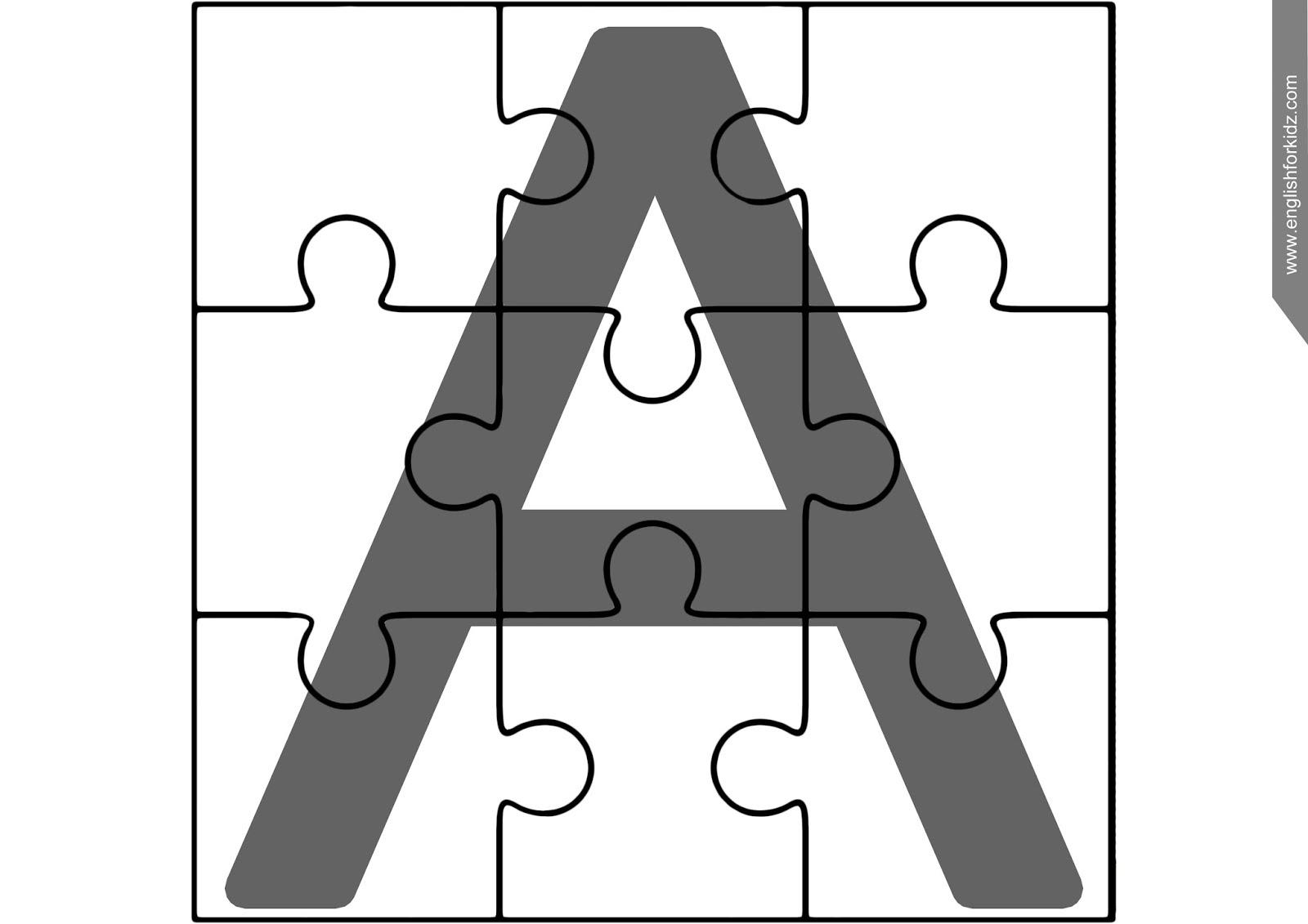 Printable Abc Puzzles - Printable Abc Puzzle